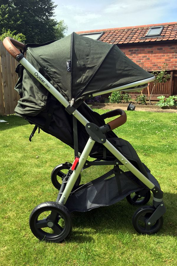 New for summer 2016, the Oyster Zero stroller by Babystyle is incredible value at under £200. Suitable to use from birth and can also take a carrycot or car seat using the adaptors from Babystyle. Folds up small, lightweight, very smooth ride and easy to push one-handed. What's not to like?