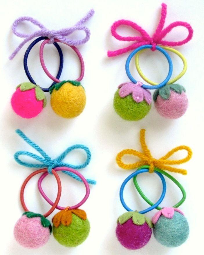 Cute way to use felt balls