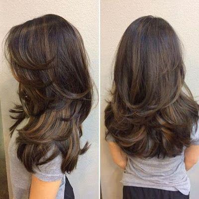 Best Transformation Haircuts For Indian Women With Thin Hair Thinhair Haircut Long Layered Hair Medium Hair Styles Thick Hair Styles