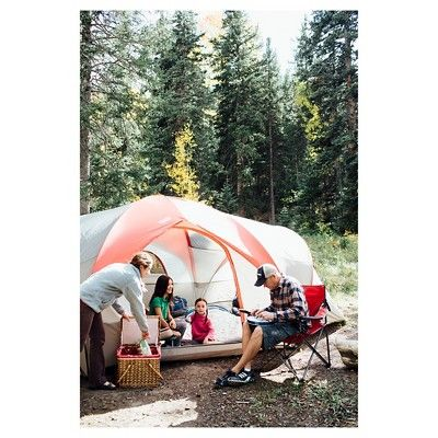 Wenzel Great Basin 10 Person Tent, Red