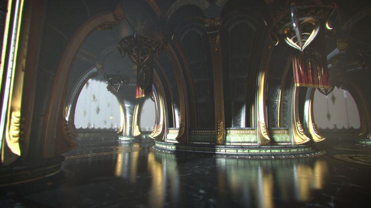 God of War: Ascension, Nate Stephens on ArtStation at https://www.artstation.com/artwork/nJGxe