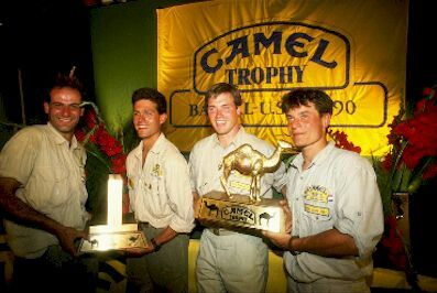 Camel trophy clothing