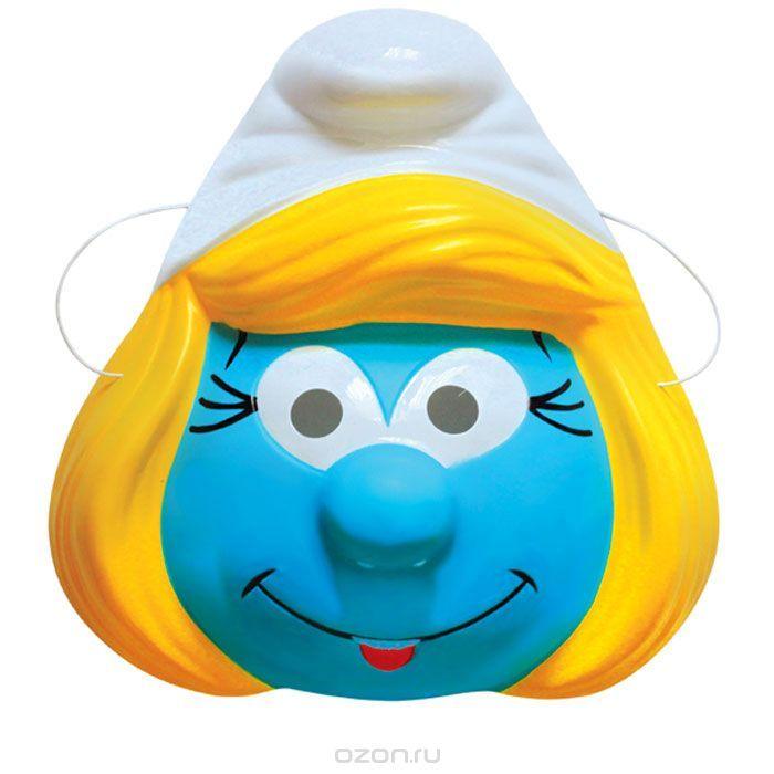 1523Детская маска с изображением любимого персонажа – это необходимый атрибут детского утренника или карнавала, который добавит празднику радости и веселья. Маска Смурфетта ТМ Смурфики изготовлена из PVC и имеет размер 21х22х8,5 см. Товар сертифицирован.