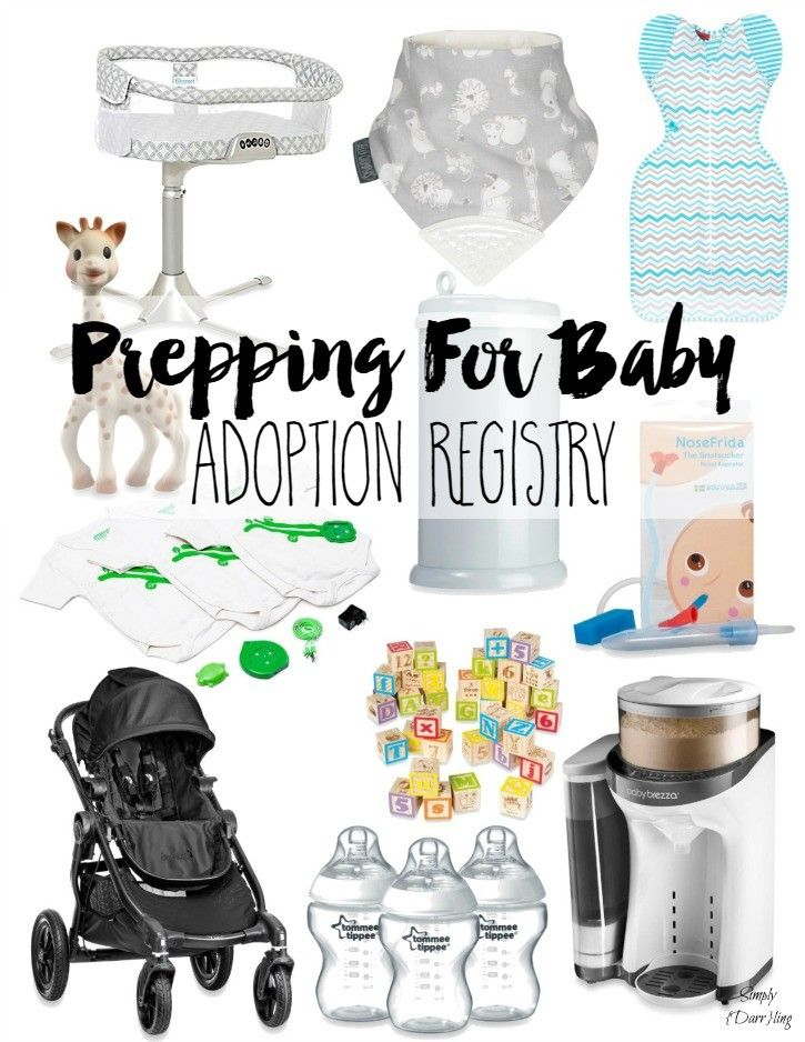 We're getting ready for our adoption and the next step was to set up a registry. Find out why we headed to buybuy BABY for this and a few of my favorites that I picked out. [sponsored]