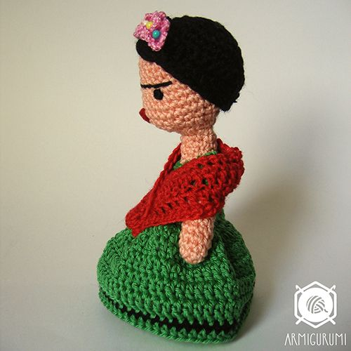 Frida Doll amigurumi pattern by Armigurumi