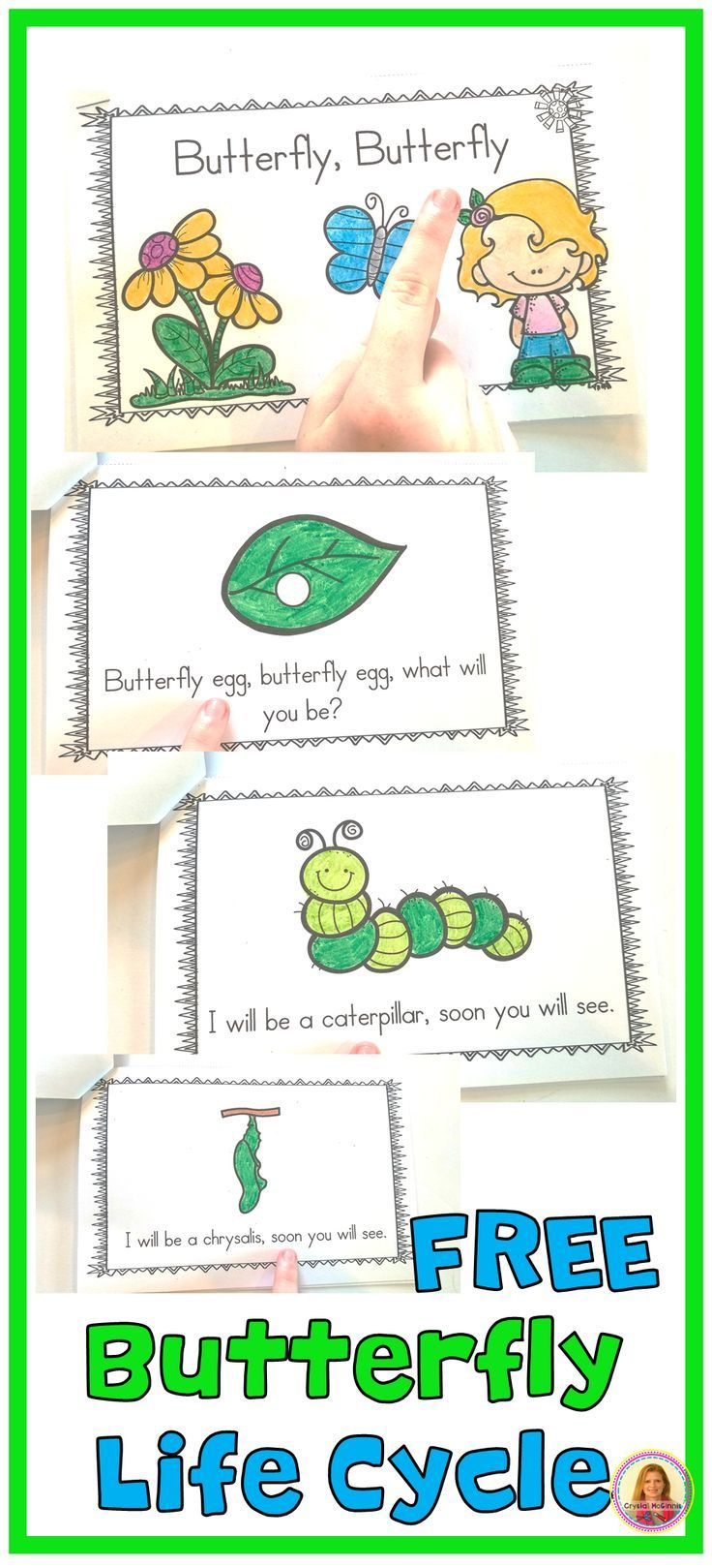 Predownload: Free Life Cycle Of A Butterfly Emergent Reader Read Like Brown Bear Bro In 2020 Butterfly Life Cycle Preschool Life Cycles Preschool Butterfly Life Cycle Kindergarten [ 1619 x 736 Pixel ]