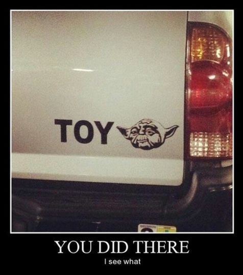 Sticker 4x4 toyota - 12 Of The Most Hilarious Car Memes