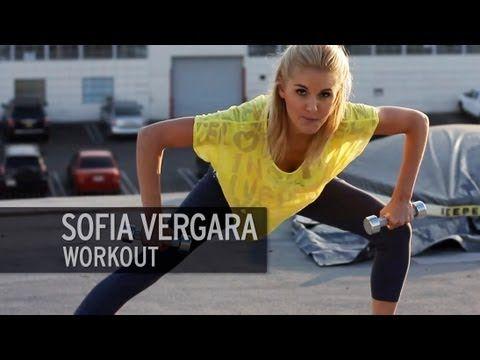 Sofia Vergara Total Body Workout