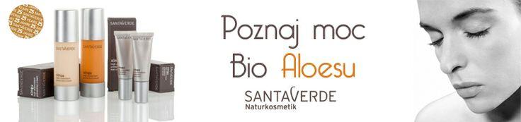 Moc bio aloesu w kosmetykach naturalnych Santaverde http://biosna.pl/pl/sklep/producent/santaverde.html