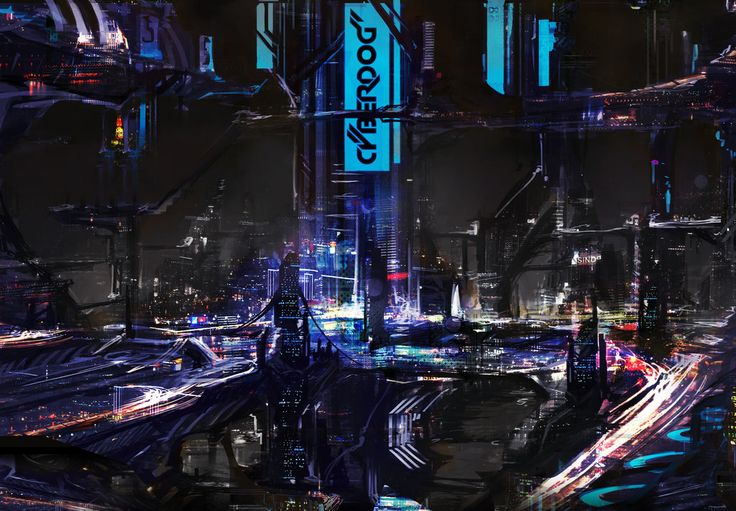 Cyberdog City by ~Shirtupboy on deviantART