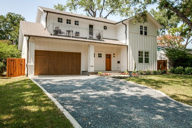 Sweet full package farmhouse w garage porch 11 hq for Metal garage with porch