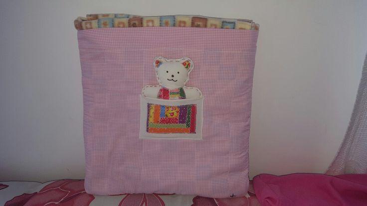 Cobertor/almofada para bebê