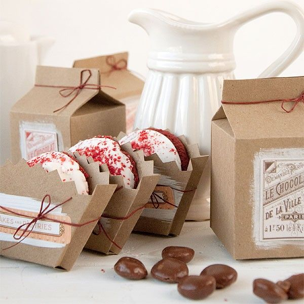 Milk and Cookies Party Favors Project