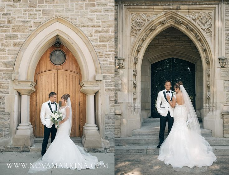 Beautiful Wedding Portrait in a Timeless Setting || Bride and Groom Portrait Inspiration || NovaMarkina Photography || See more of this Liuna Station Wedding here: http://www.novamarkina.com/blog/liuna-station-wedding-photography-k-a