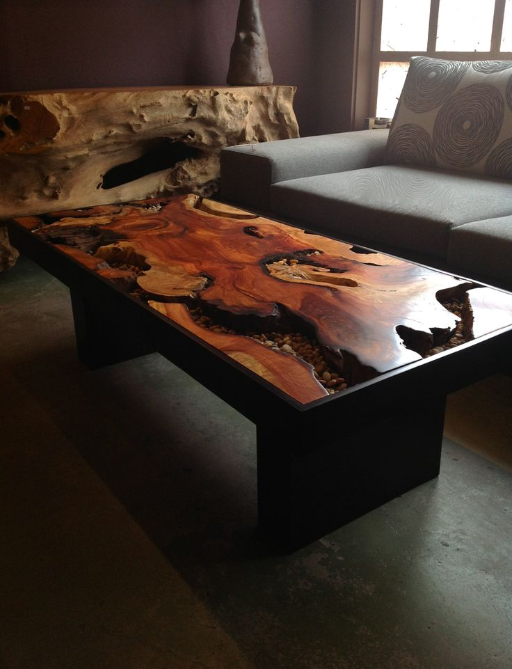 Tree Root Coffee Table Sequoia Santa Fe Natural Wood