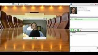 Videoconferencia software iWowWe español, via YouTube.