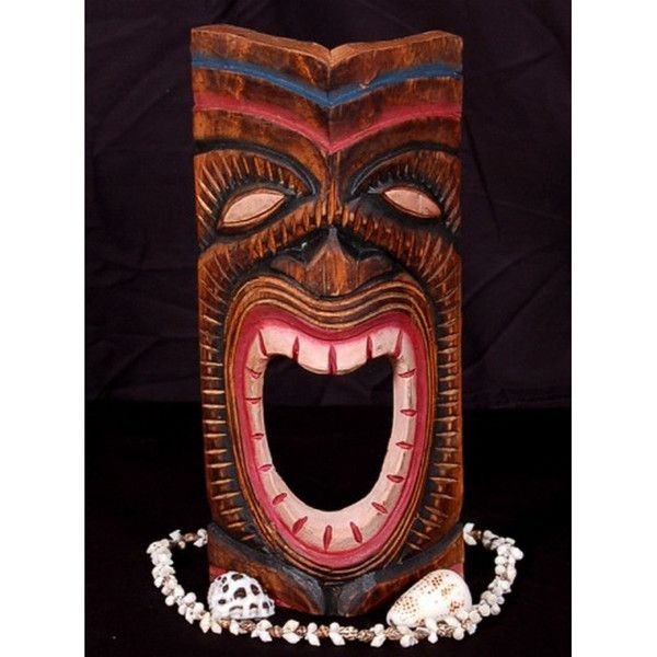 45 best images about Polynesian Hand Carved Masks on ...