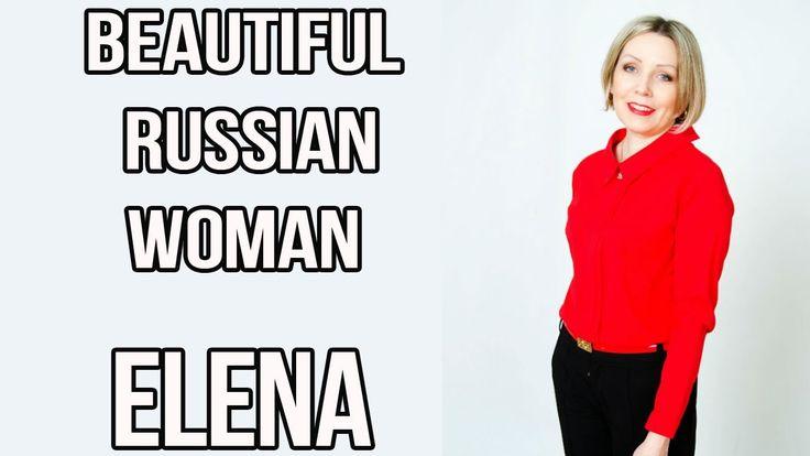 Beautiful Russian woman for marriage Elena
