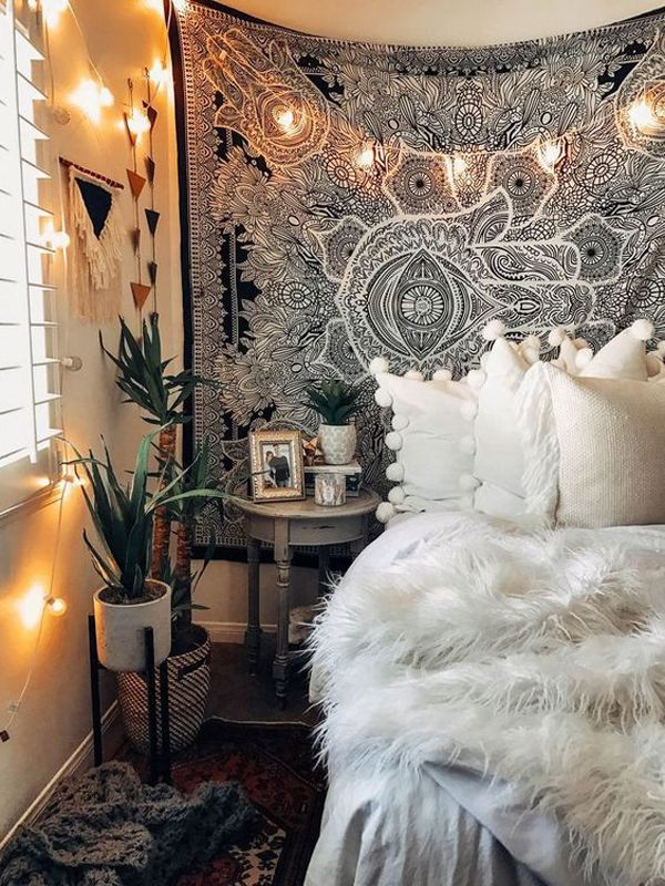 This Bedroom Is Getting Ready For The Fall Season In 2021 Home Bedroom Interior Bedroom Makeover