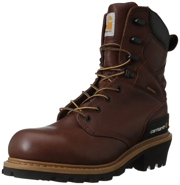 Carhartt Men's CML8230 8 Inch Steel Toe Boot ** Want to know more, visit the site now : Carhartt Boots