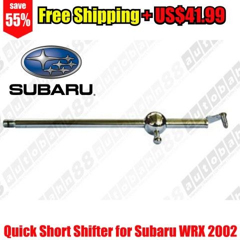 Quick Short Shifter for Subaru WRX 2002- – Autobahn88 – CAPP056-Free Shipping