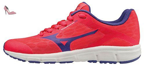 Mizuno Synchro Jr, Chaussures de Running Entrainement Fille, Rose (Diva Pink/Liberty/White), 35 EU - Chaussures mizuno (*Partner-Link)