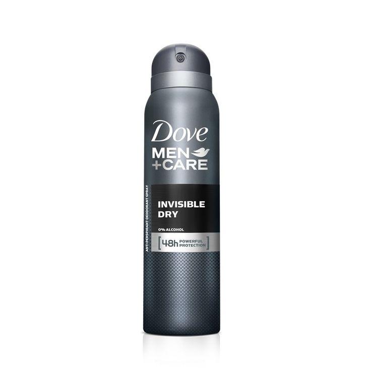 Buy #Dove Men #Deodorant Aerosol #Invisible Dry 150 Ml Online Dubai, UAE, Qatar at Best Price AED 13.75   Luluwebstore.com
