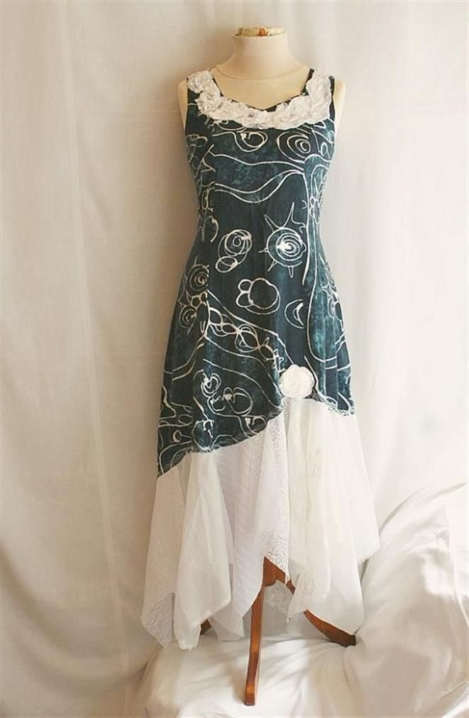 up cycled dress  Bing : up cycled clothes