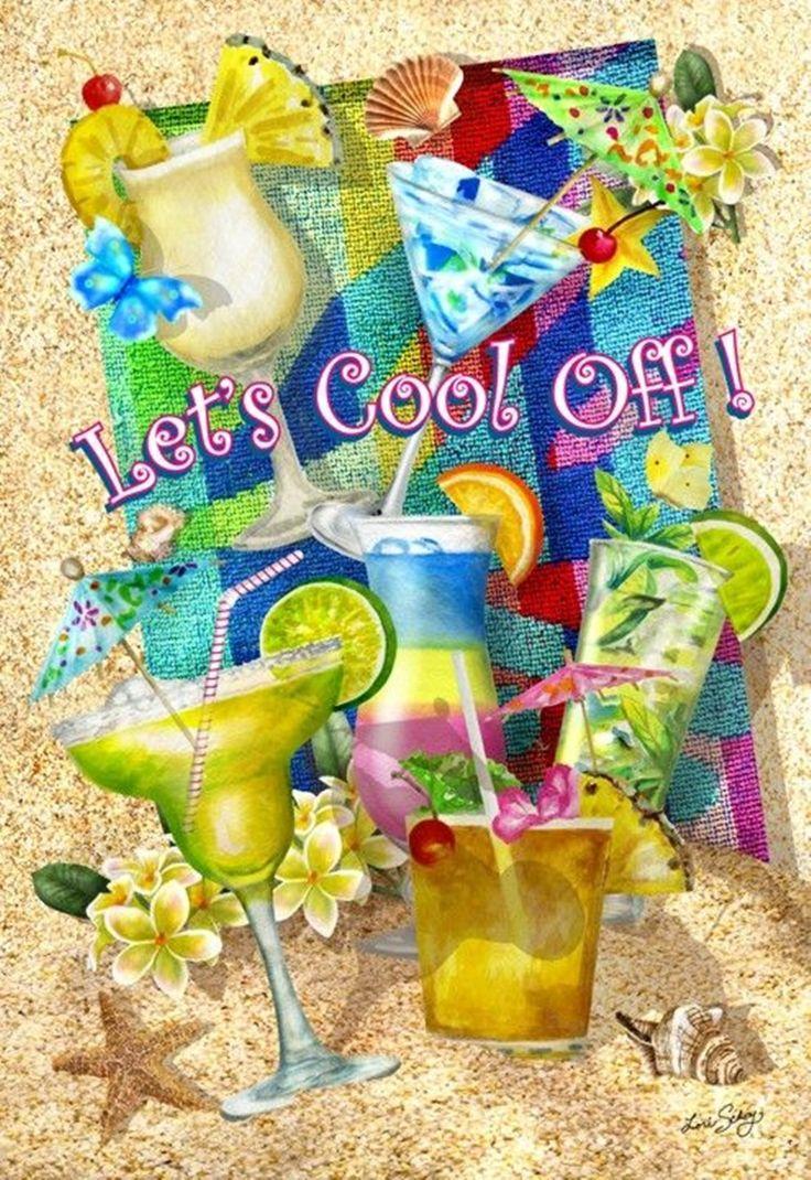 Summer beach scene vector stock vector colourbox - L Dy B Sil Beach Sayingsbeach Quotessummer