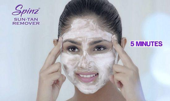 Spinz Sun Tan Remover Instant De Tan Cream Price, Info: New Launch