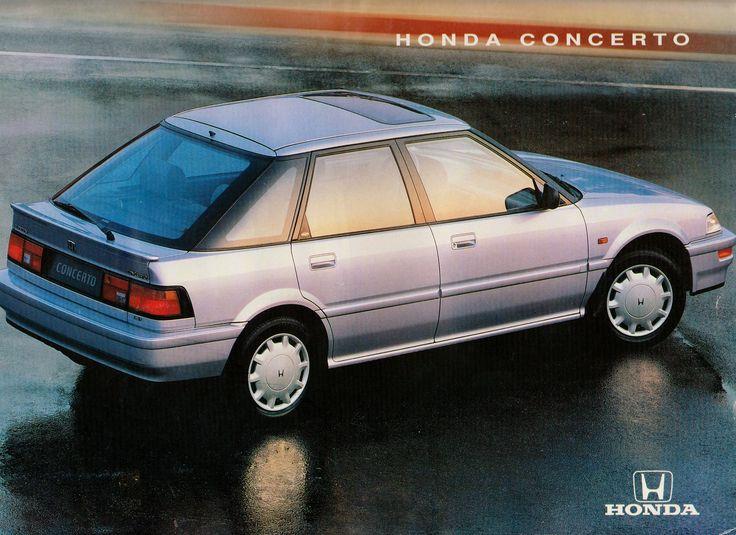 Honda Concerto France Brochure 1993