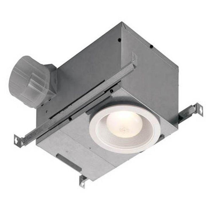 Broan-Nutone 744FL Recessed Bathroom Fan / Light - ENERGY STAR - 744FL