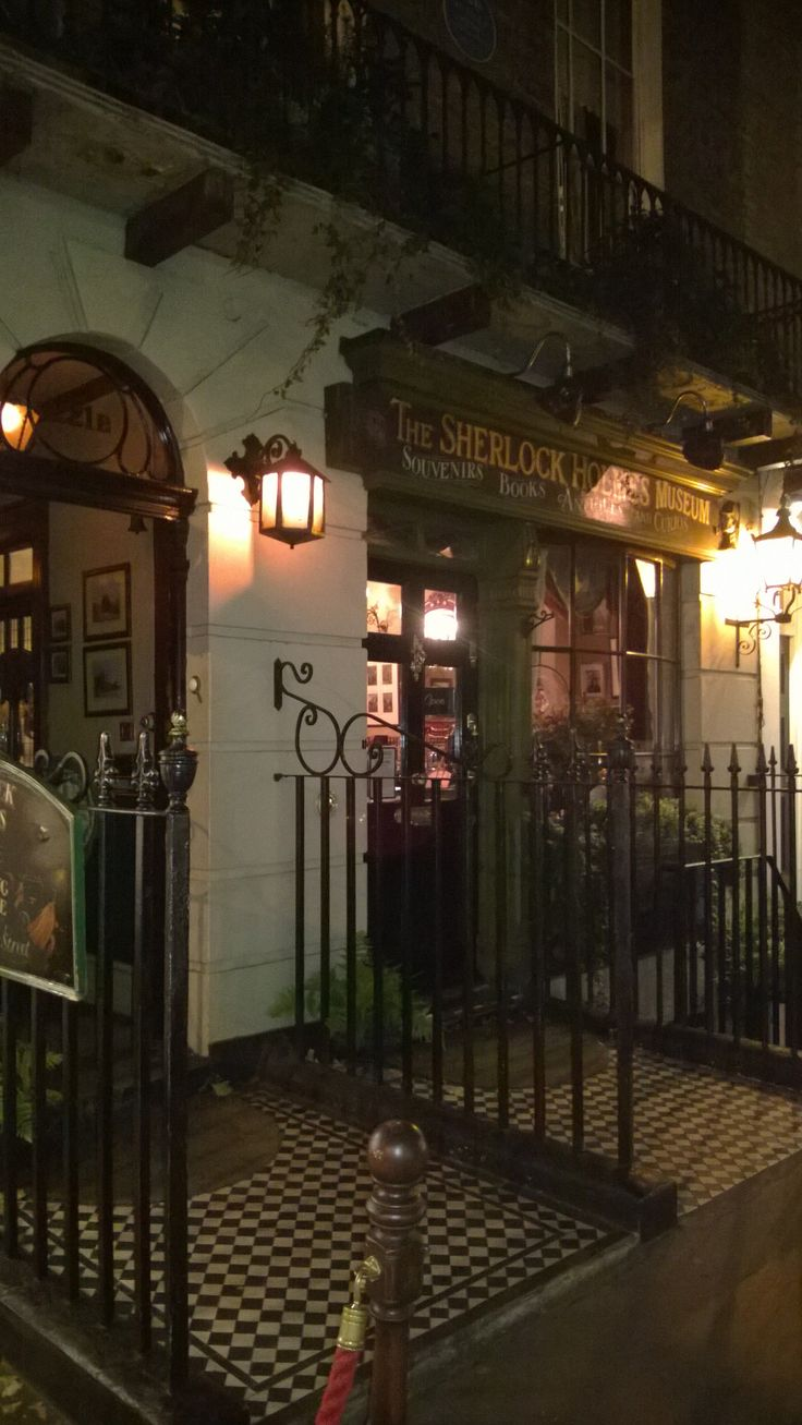 Sherlock Holmes Museum - Baker Street. I went to the museum this past winter and it was amazing!