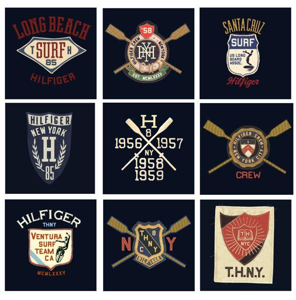 betype: Hilfiger Sportswear by Gleen Wolk. - Good typography
