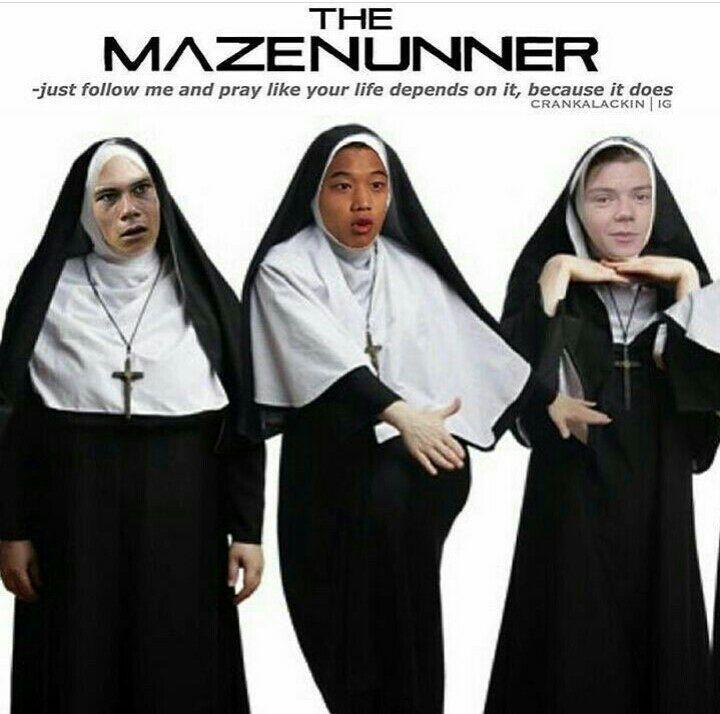Lee •45• de la historia Memes de Maze Runner por GamerDeChocolate (Dayana) con 673 lecturas. chistes, memesdemazerunner...