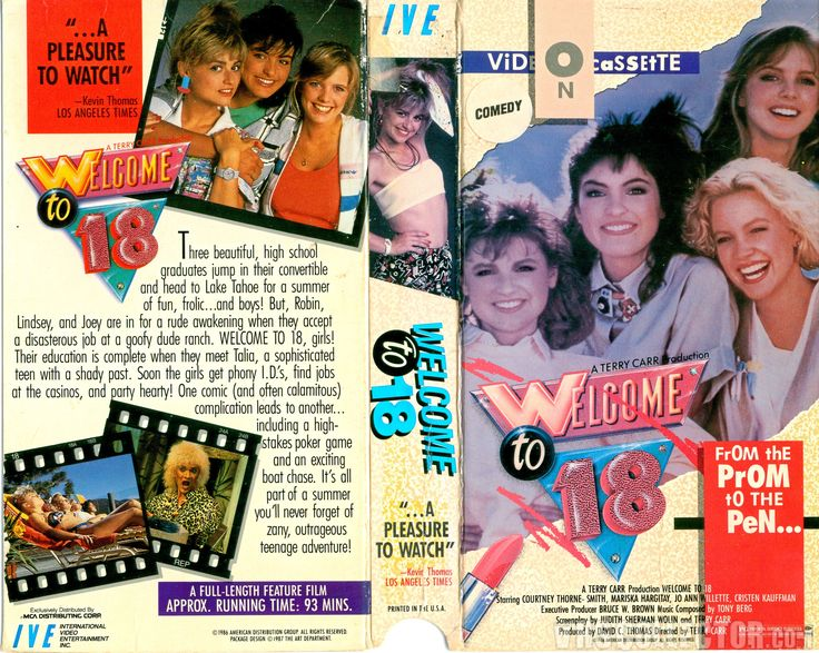 Welcome To 18 Vhs Cover
