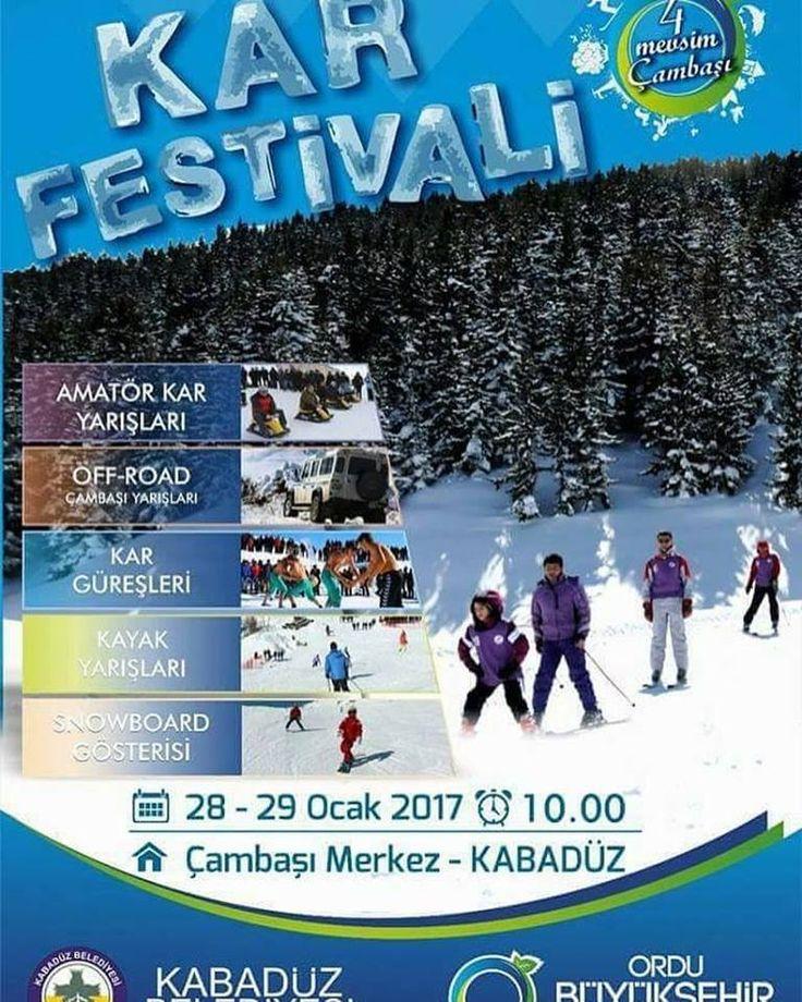 Çambaşı Yaylası Kar Festivali
