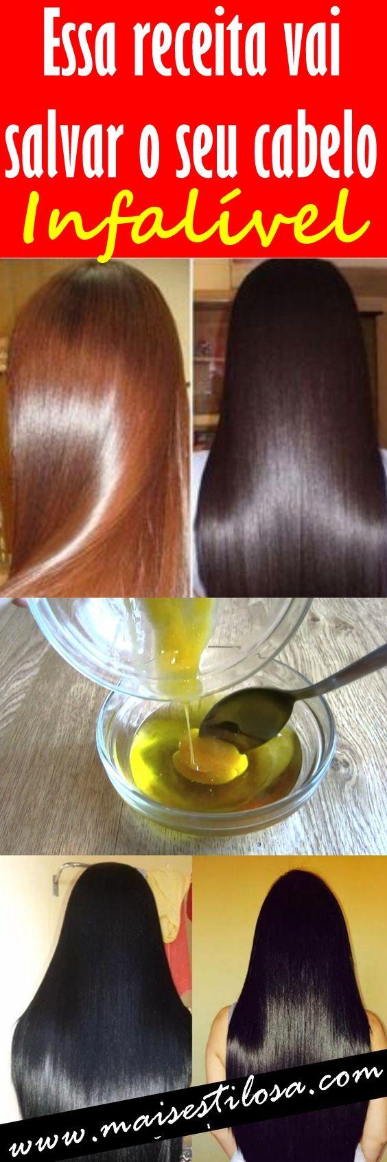 Essa receita caseira vai salvar seu cabelo danificado (Infalível)