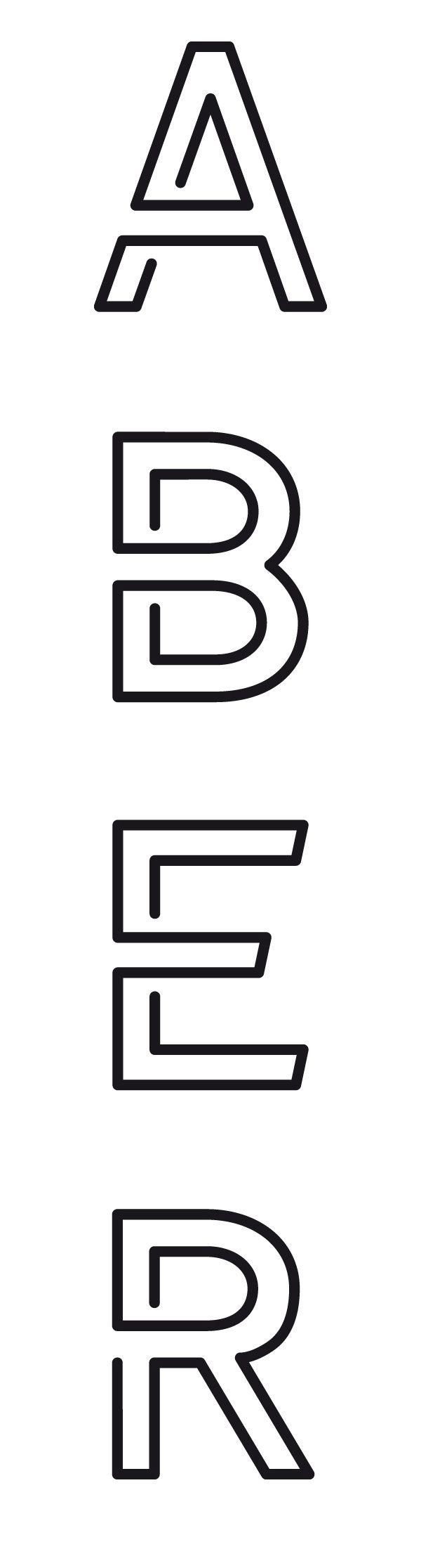 Erratum// Continuous line typeface. For the win.