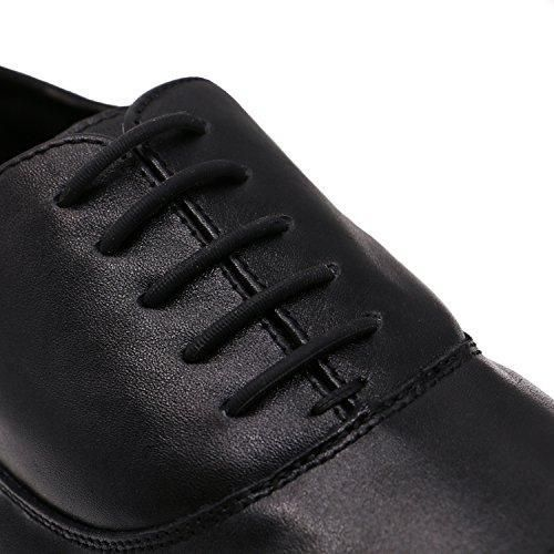 Oferta: 8.6€. Comprar Ofertas de inmaker no tie cordones zapatillas de para vestido de mujer, elástico Oxford cordones para adultos y jóvenes negro negro barato. ¡Mira las ofertas!