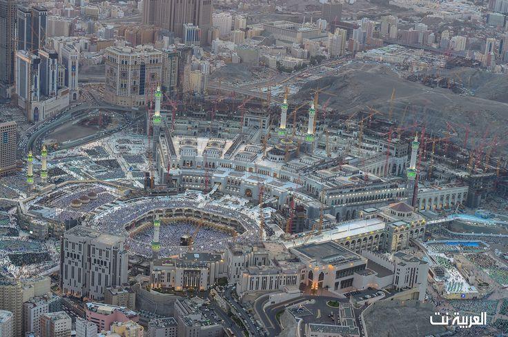 شاهد صور الحرم المكي قديما وحديثا العربية نت الصفحة الرئيسية Photo City Aerial