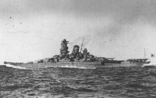 Japanese battleship Yamato was one of two Yamato class battleships - the heaviest ever built