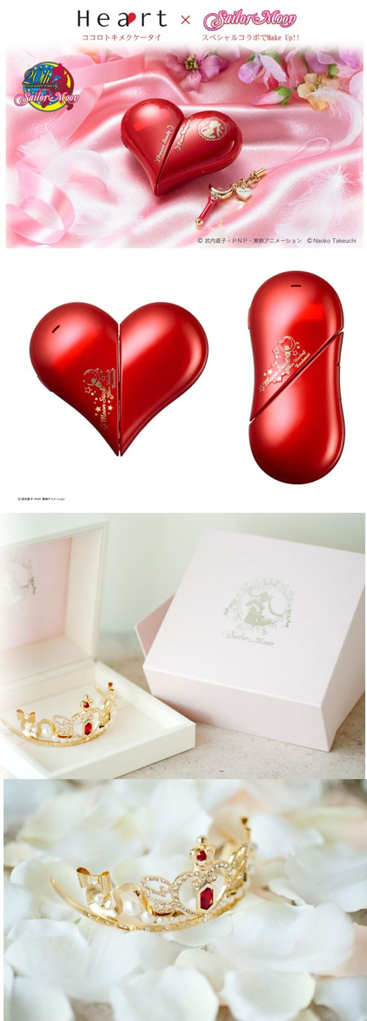 Sailor Moon craze hits overdrive with new official phone and wedding tiara