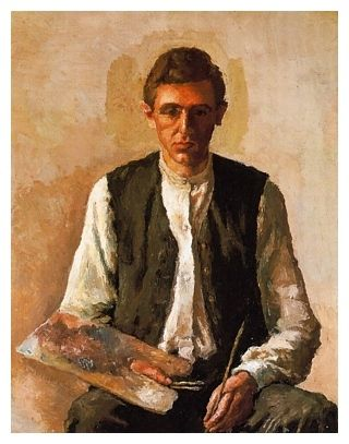 Giorgio Morandi, Self Portrait, 1925 on ArtStack #giorgio-morandi #art