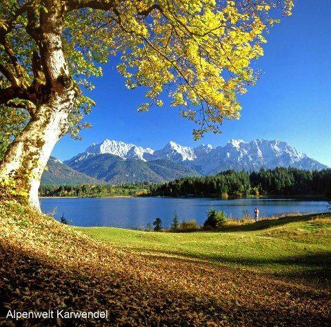 This summer: hiking in Karwendel / Bavaria, Germany