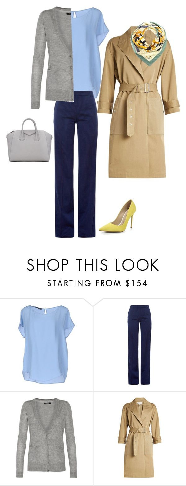 5 by asvetik on Polyvore featuring мода, Isabel Marant, Les Copains, Vanessa Bruno, Altuzarra and Givenchy