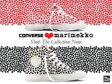 Marimekko and Converse collaboration