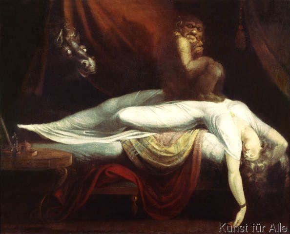 Johann Heinrich Füssli - Der Nachtmahr