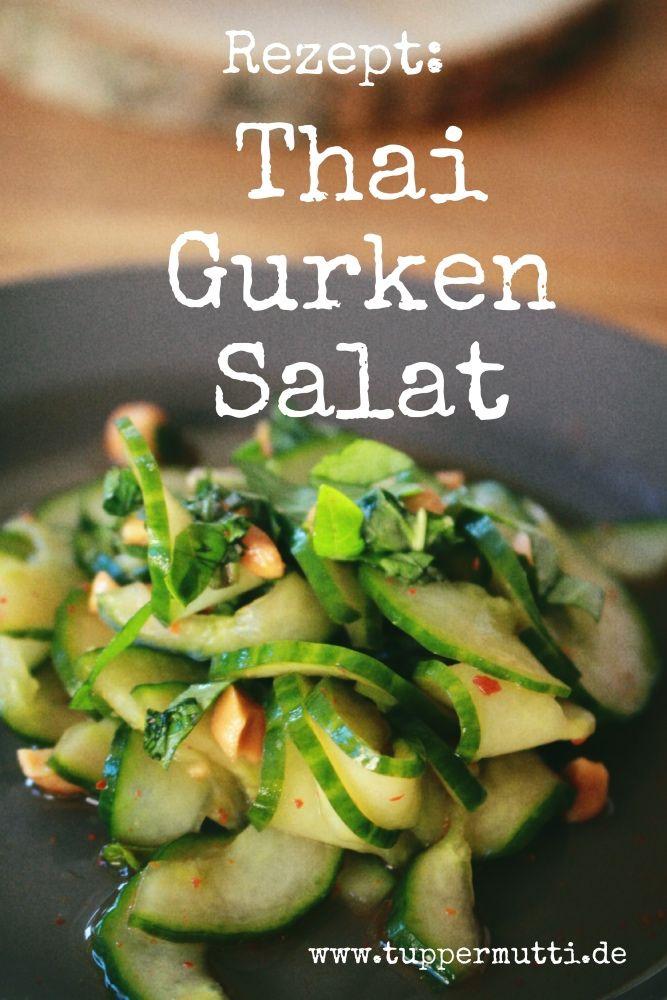 Gurke mal ganz anders- Rezept für Thai – Gurkensalat