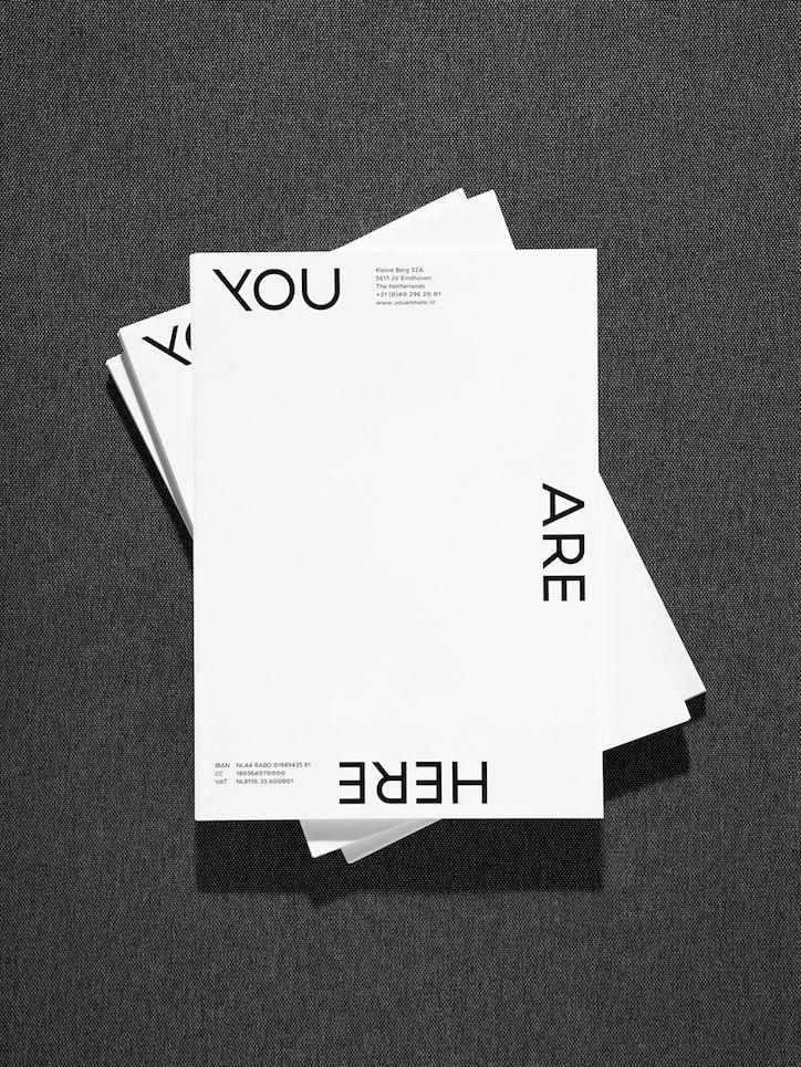 Dutch designer Beau Bertens' hyper-minimal graphic design. (See more)